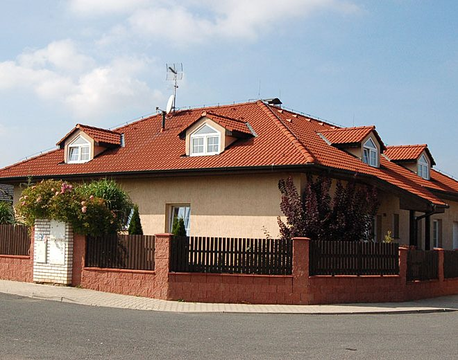 Stavby rodinných domů – reference, fotodokumentace